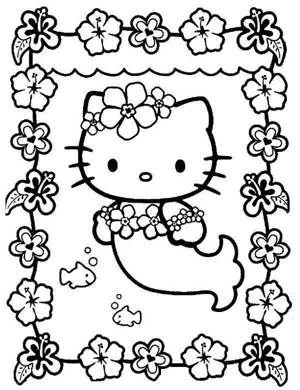 Darmowa Kolorowanka Hello Kitty