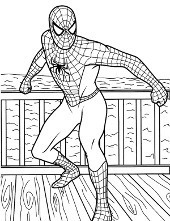 Kolorowanki ze Spidermanem