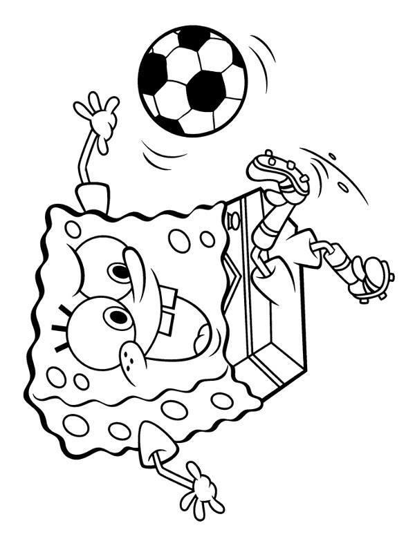 spongebob pi u0142ka no u017cna kolorowanki  malowanki