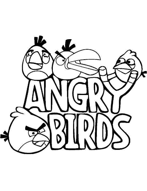 Kolorowanka Angry Birds 5