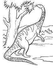 Dinozaury Kolorowanki Do Wydruku Dla Dzieci Z Dinozaurami