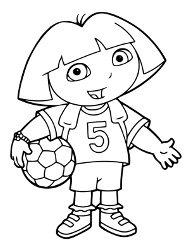 Dora Poznaje Swiat Kolorowanki Do Druku Malowanki