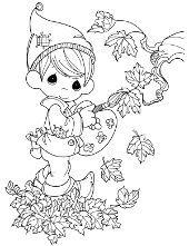 Jesien Jesienne Kolorowanki Do Wydruku Z Porami Roku