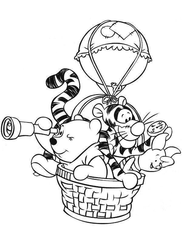 Coloring pages winnie the pooh and friends free printable - Kolorowanka Kubu Puchatek 16 Kolorowanka Do Druku
