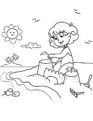 Lato Wakacje Darmowe Kolorowanki Malowanki Dla Dzieci