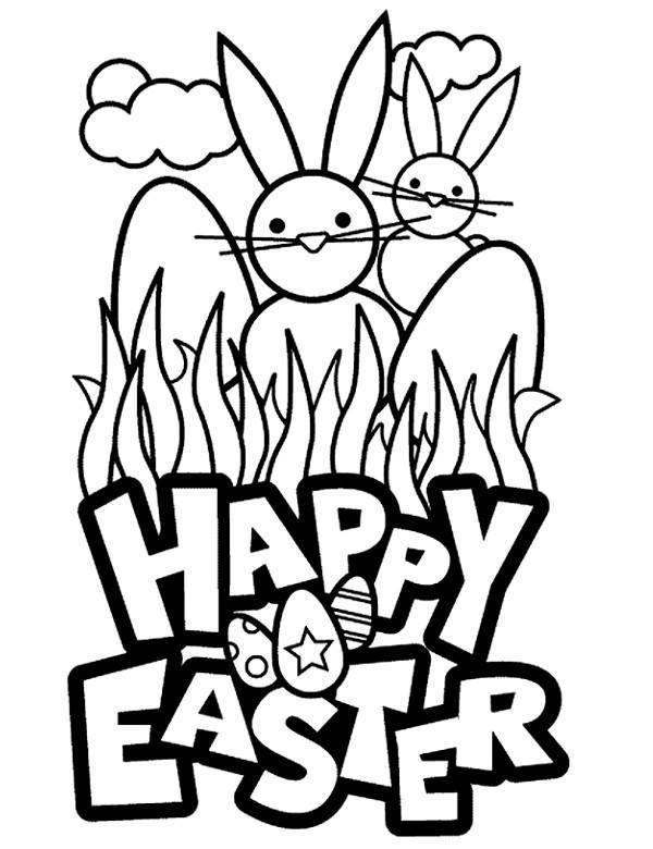 Malowanka Wielkanoc Kolorowanki Druku