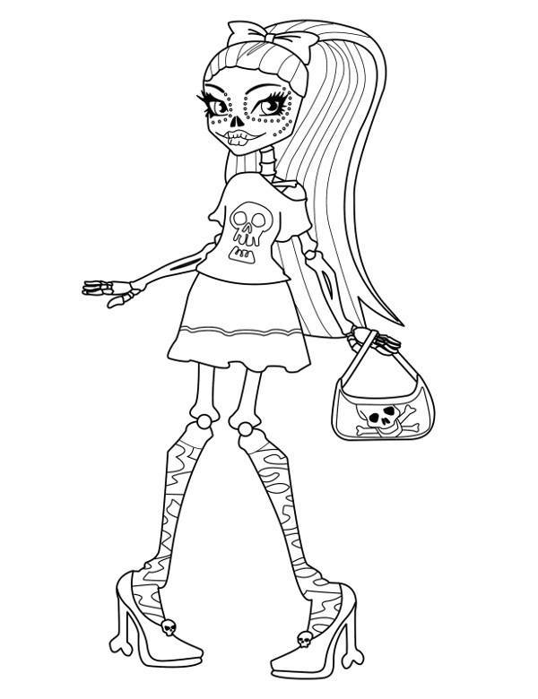 Monster High Kolorowanka 14 Kolorowanki Do Druku E Kolorowanki