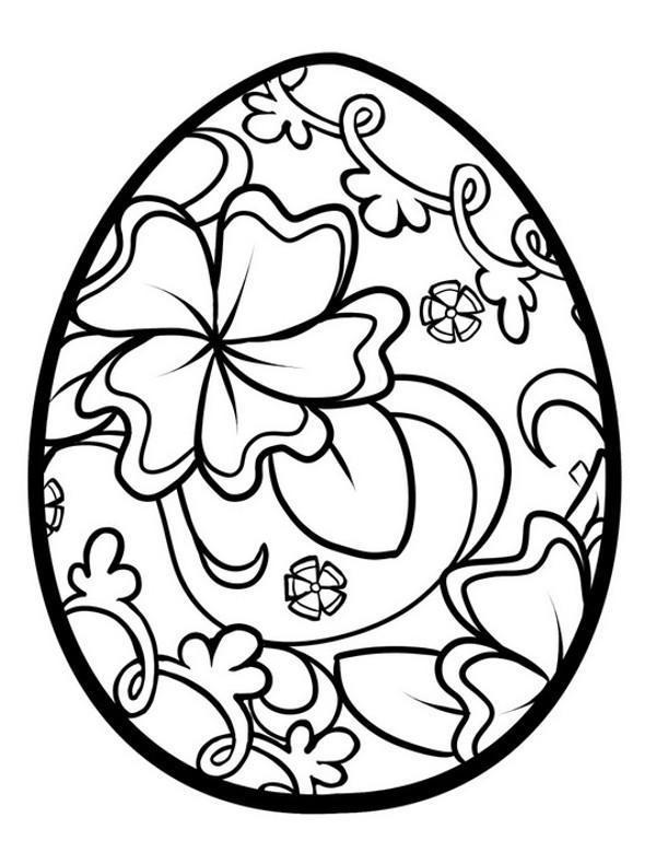 Pisanka Kolorowanki Malowanki Wielkanocne