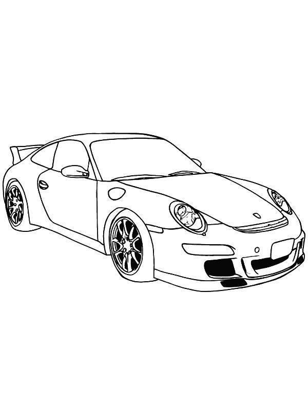 Samochody Kolorowanka Porsche Kolorowanki Do Druku E Kolorowanki