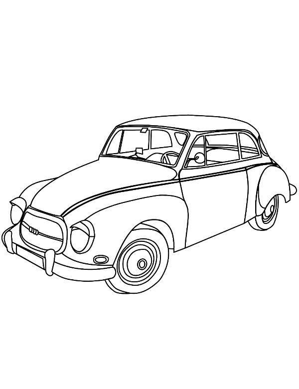 Stare Auto Samochod Do Wydruku