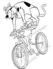 Kolorowanki Do Wydruku Scooby Doo Shaggy Fred I Velma