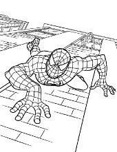 Spiderman kolorwanka