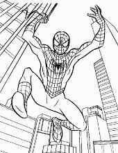 Spiderman Kolorowanki Do Wydruku Dla Dzieci Ze Spidermanem