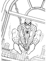 Kolorowanki z bajki Spiderman