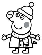 Swinka Peppa Kolorowanki Do Wydruku Dla Malych Dzieci