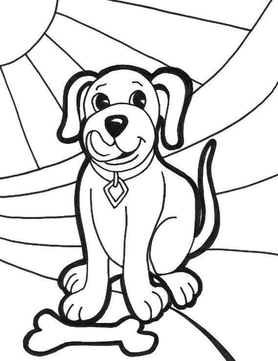 Piesek Latwa Kolorowanka Pies E Kolorowanki Eu