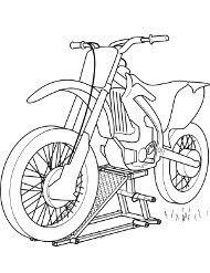 Kolorowanki Z Motorami Malowanki Motocykle Dla Dzieci