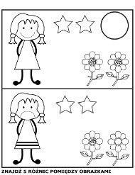 Znajdz Roznice Miedzy Obrazkami Ilustracjami Edukacja