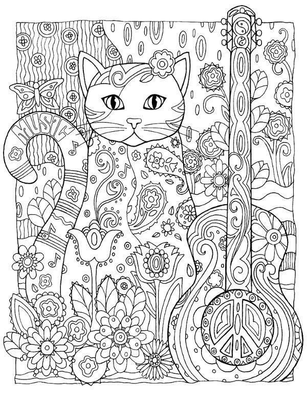 Kolorowanka dla doros ych 28 kolorowanka do druku for Art et decoration pdf