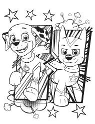 Psy do kolorowania
