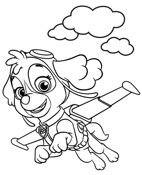 pal patrol  free coloring pages