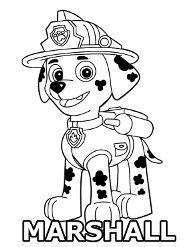Psi Patrol Darmowe Kolorowanki Do Wydruku