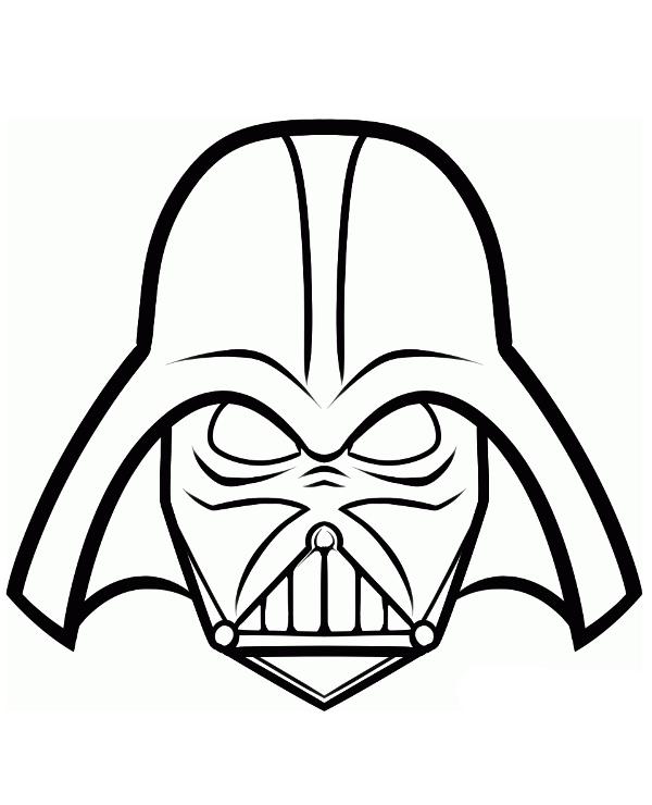 Lord Darth Vader Kolorowanka Do Wydruku