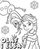 Frozen Kraina Lodu Kolorowanki Do Druku Dla Dzieci