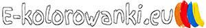 E-kolorowanki kolorowanki do druku Logo