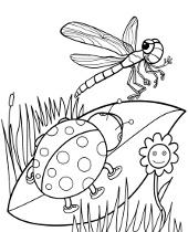 foto de Wiosna kolorowanki online do wydruku dla dzieci pory roku