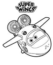 Kolorowanki z Mirą z bajki Super Wings