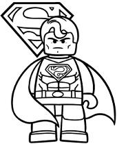 Superman Kolorowanki Online Do Wydruku Dla Chlopca