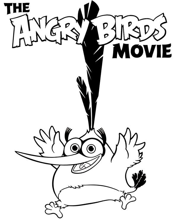 Bubbles Z Gry Angry Birds Darmowy Obrazek Do Kolorowania