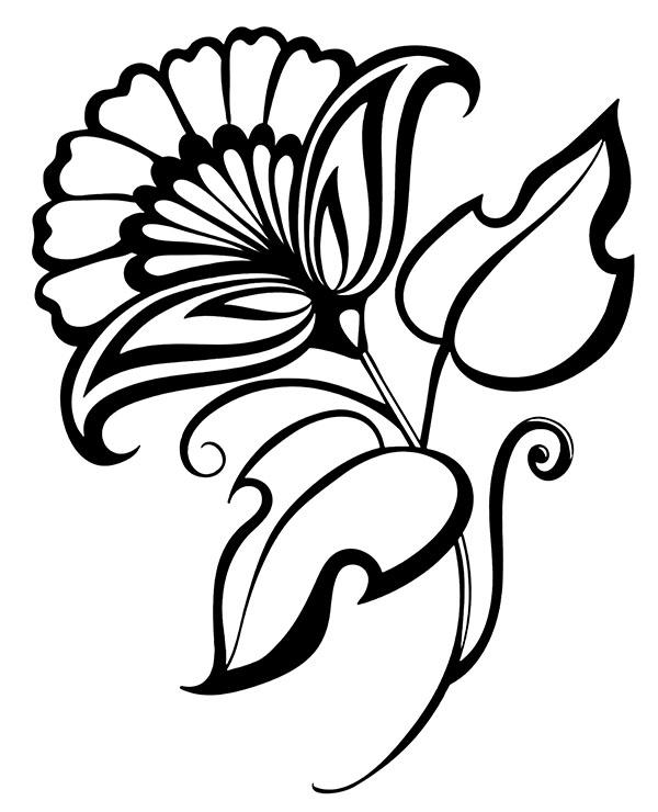 Tatuaż Kwiat Tatuaże Do Wydruku I Pokolorowania