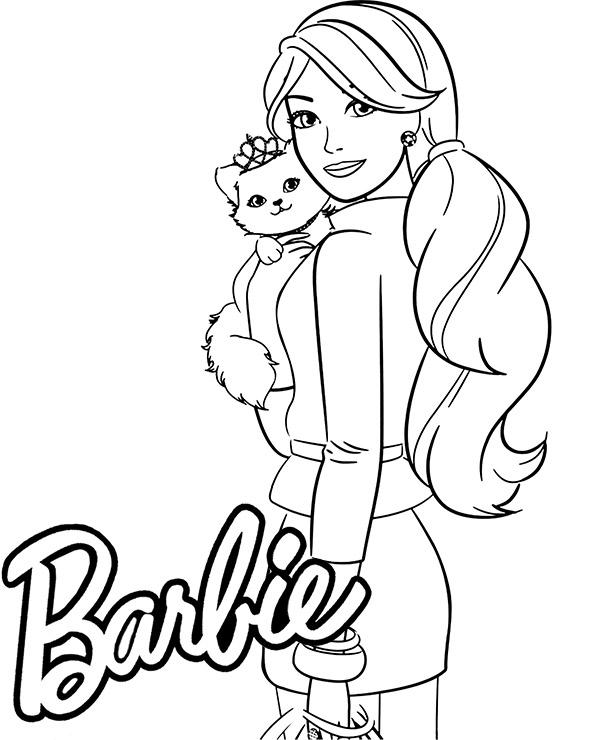 Popularny Barbie Kolorowanka Do Wydruku Najlepsze Kolorowanki