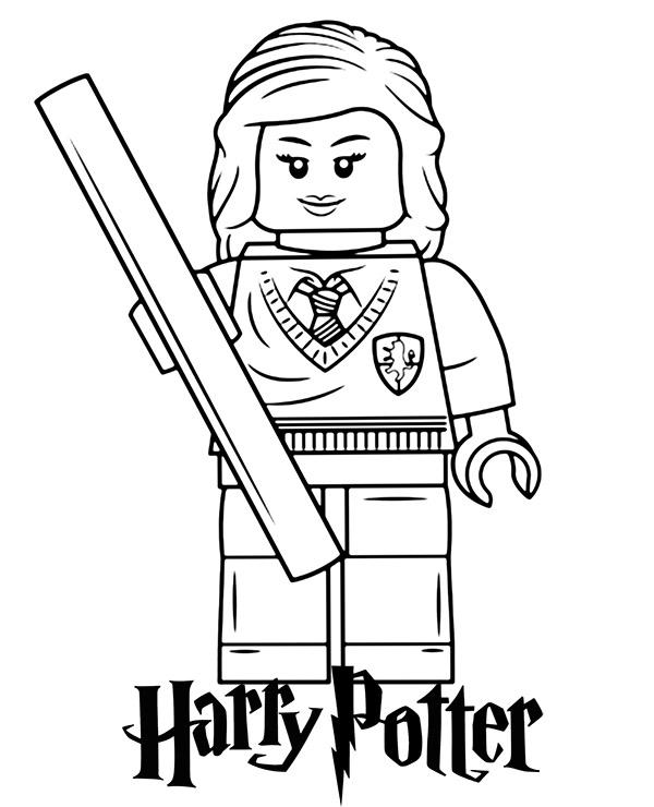 Darmowe Kolorowanki Do Wydruku Harry Potter Z Lego