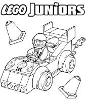 Kolorowanki Lego klocki do wydrukowania