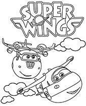 Kolorowanki Super Wings Do Wydruku Pobrania
