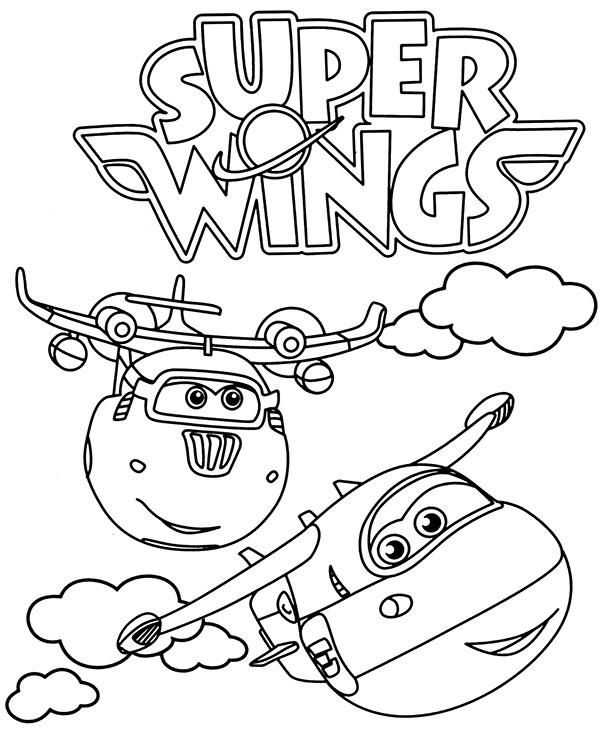 Samoloty Dzetek I Srubek Darmowa Malowanka Dla Dzieci