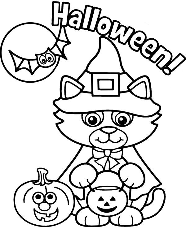 Kolorowanki Na Halloween Do Wydruku Za Darmo