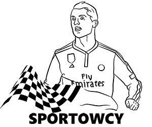 Kolorowanki Do Wydruku Z Gwiazdami Celebrytami Sportowcami