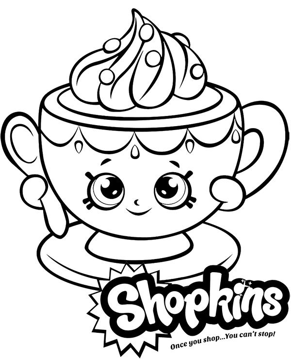 Fili anka Shopkins kolorowanka