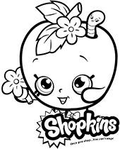 Shopkins Kolorowanki Do Druku Malowanki