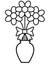 Kolorowanki Kolorowanki Kwiaty Dla Mamy Do Druku Dla Dzieci I