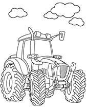 Free Printable Tractor Coloring Pages For Kids Kolorowanki