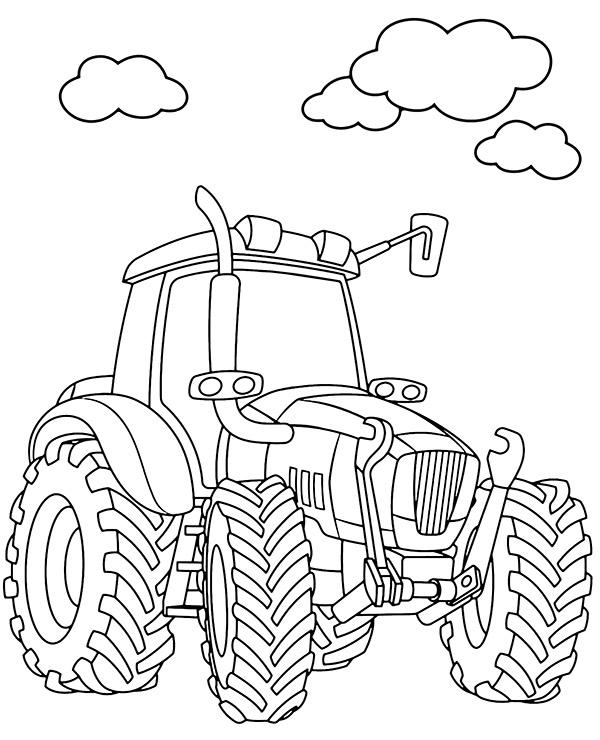 Darmowa Kolorowanka Traktor E Kolorowanki Eu