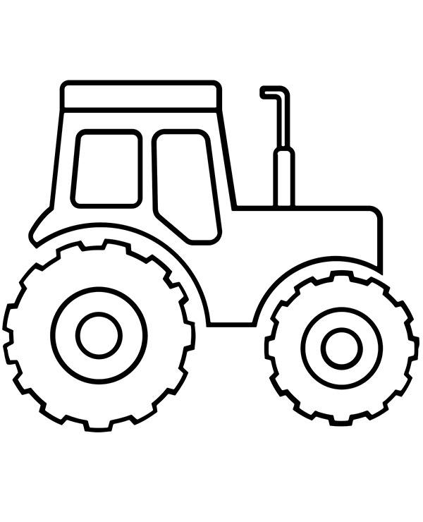 Latwa Kolorowanka Traktor E Kolorowanki Eu